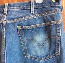 Distressed LEVIS 501 42 X 32 or 40 X 30 Actual Size JEANS STRAIGHT LEG