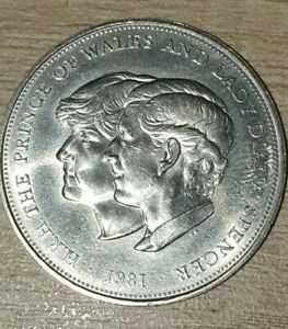 1981 Charles And Diana Coin..excellent condition