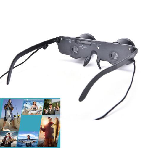 3x28 Magnifier Glasses Style Outdoor Fishing Optics Binoculars Telescope SG
