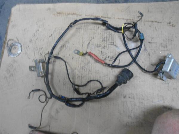 vsh 6201afy voltage regulator with wiring harness, omc Polaris Wiring