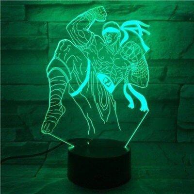 Fortnite Llama 3d Del Lampe De Chevet Nuit Lumiere Lampadaire