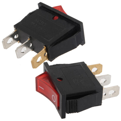 3 Pin Dashboard On Off Power Boat Rocker Switch Toggle SPST