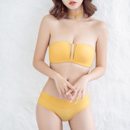 Slim Women Bra Set Lingerie Feel Free To Switch Underwear Bralette+Panties Bras