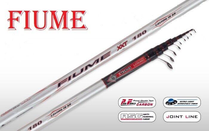 Colmic Fiume xxt 180 6 da 7 Mt 18GR canna da 6 pesca bolognese professionale nuova f4bc18