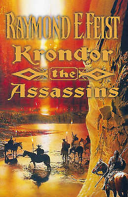 1 of 1 - USED (LN) Krondor The Assassins - Book Two Of The Riftwar Lagacy by Raymond E. F