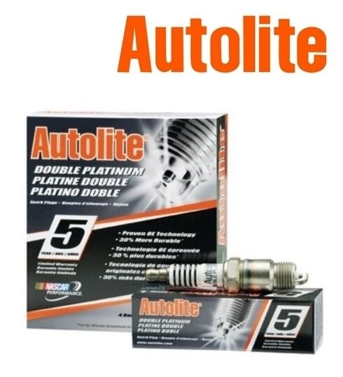 AUTOLITE DOUBLE PLATINUM Platinum Spark Plugs APP606 Set of 6