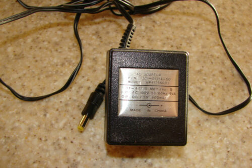 Power supply out 7.5VDC 600mA in AC 100V 50//60Hz 9VA