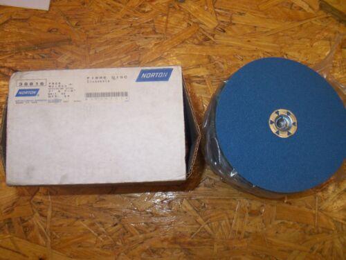 """NORTON 38816 F826 NORZON SPEEDLOK DISC 7/""""x7//8/"""" 60 GRIT SANDING DISC PACK OF 25"""