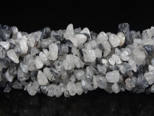 """Piedras Preciosas Naturales 5-8mm Gratis formado Chip del grano 35/"""" Lapis Coral de Cristal de Hematites"""