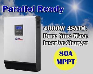 5kva 4000w 48v solaire onduleur PV 80A MPPT chargeur solaire