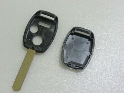 For New Honda 3 Buttons Entry Case Replacement Remote Key Fob Shell S H21C