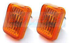 Classic Mini Smoked Tinted Side Repeaters Indicators Lights Lenses Lens