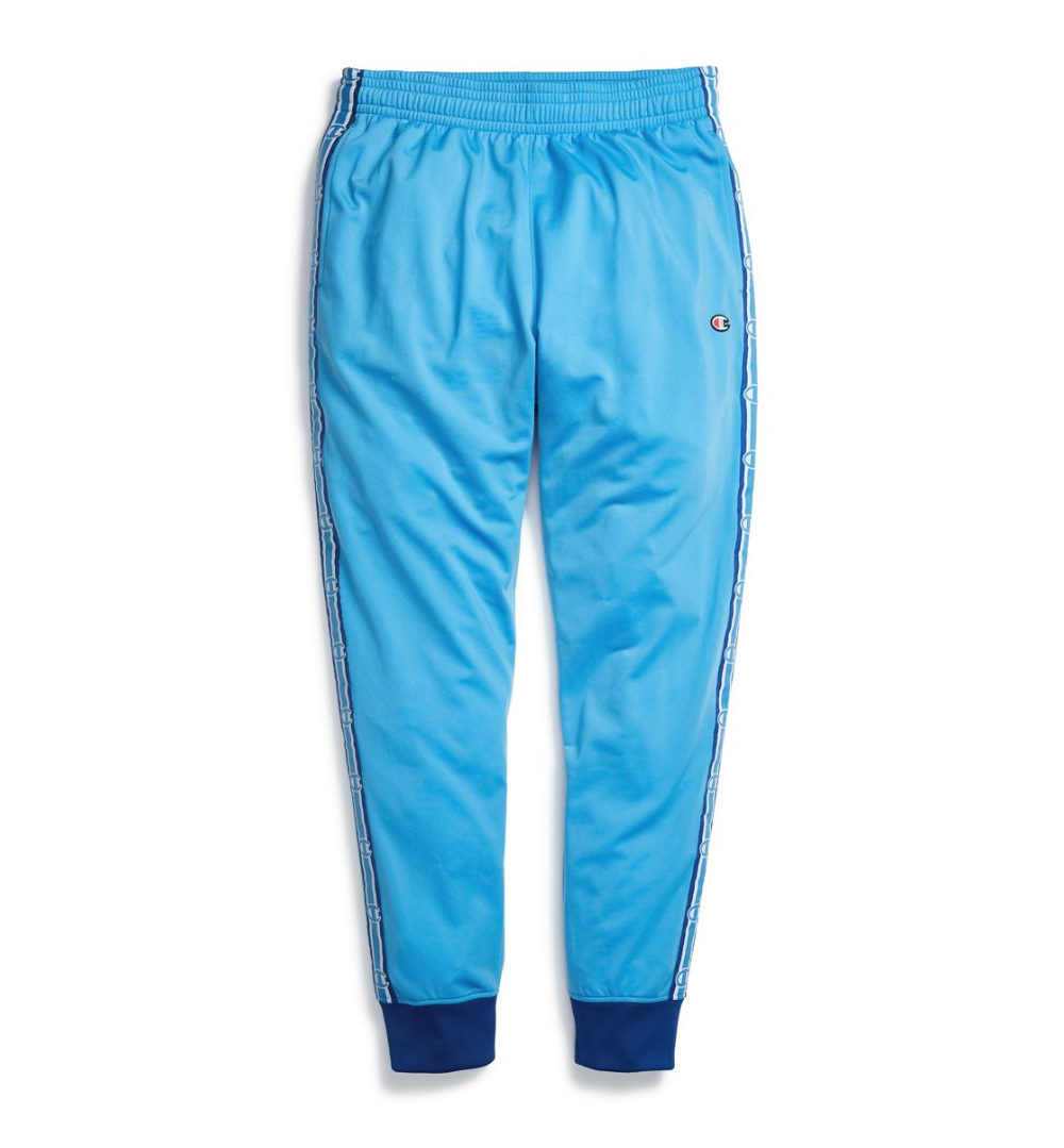 Champion Active Blau Surf The Web Side Tape Track Pants