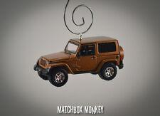 70th Anniversary 2011 Jeep Wrangler Unlimited Custom Ornament 1/64 Adorno SUV