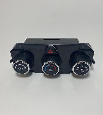 08 09 Dodge Ram 1500 2500 3500 A//C Control Temperature Panel Dual Zone Climate