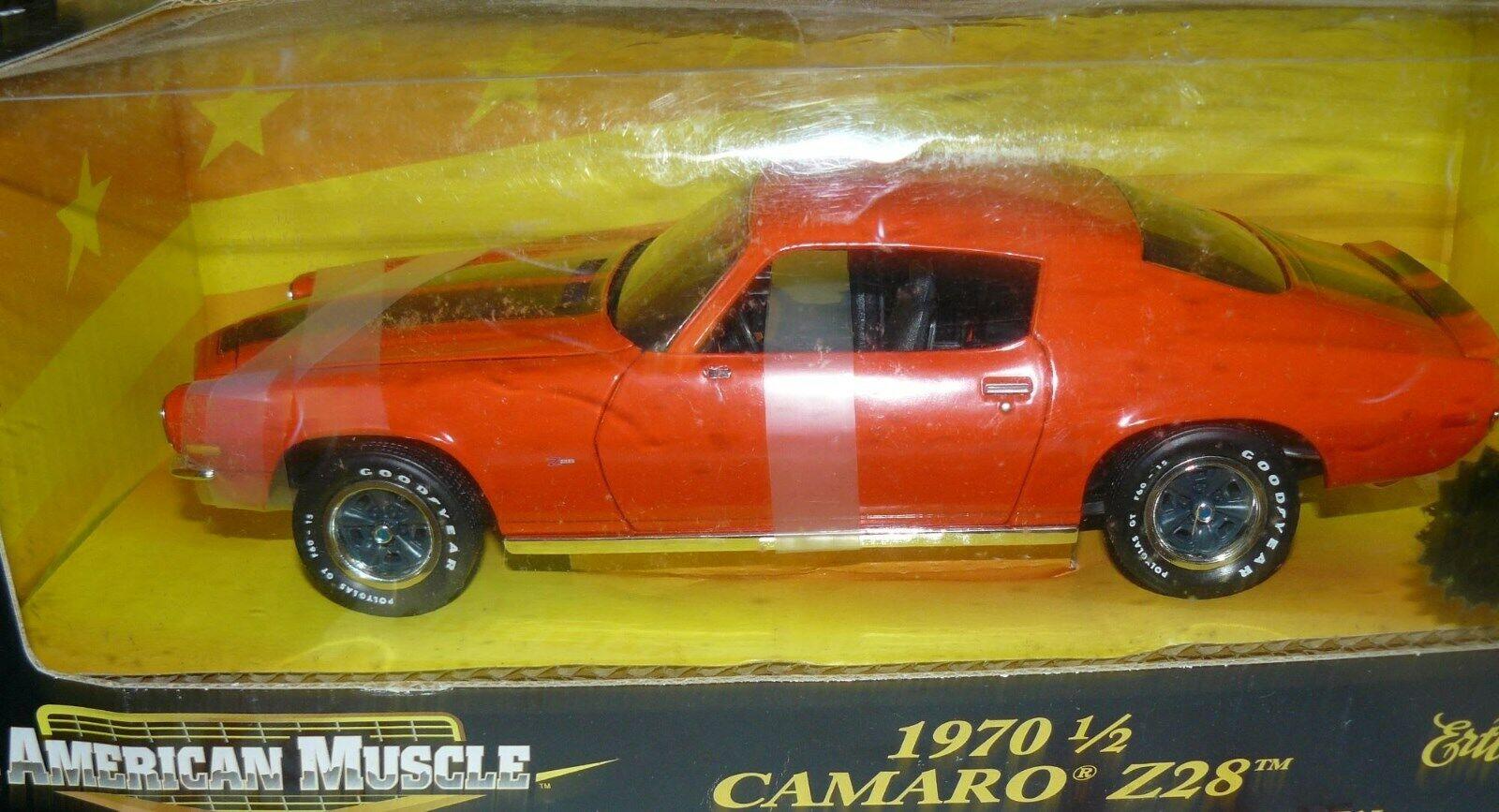 1 18, 1970 1 2 Camaro Z28 orange