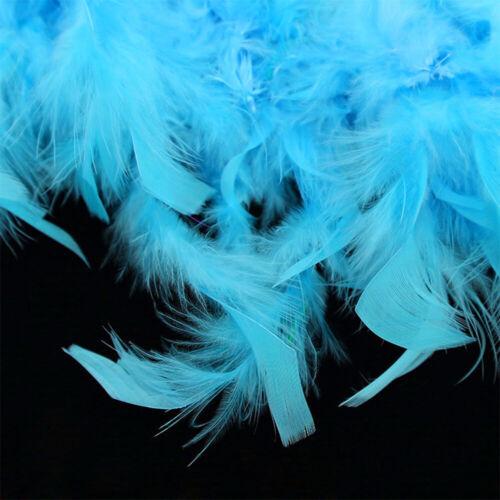 2Yard 6ft Chandelle Fluffy Feather Boa Strip Wedding Bachelorette Dressup Party