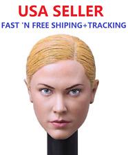 Custom 1/6 Terminator T-X Kristanna Loken Female Head Sculpt