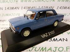 Voiture 1/43 IXO DEAGOSTINI Balkans : VAZ 2107 Lada (Fiat 124)