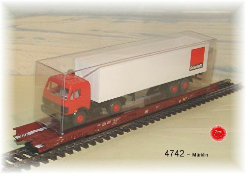Märklin 4742 Freight Wagon-New in Original Box
