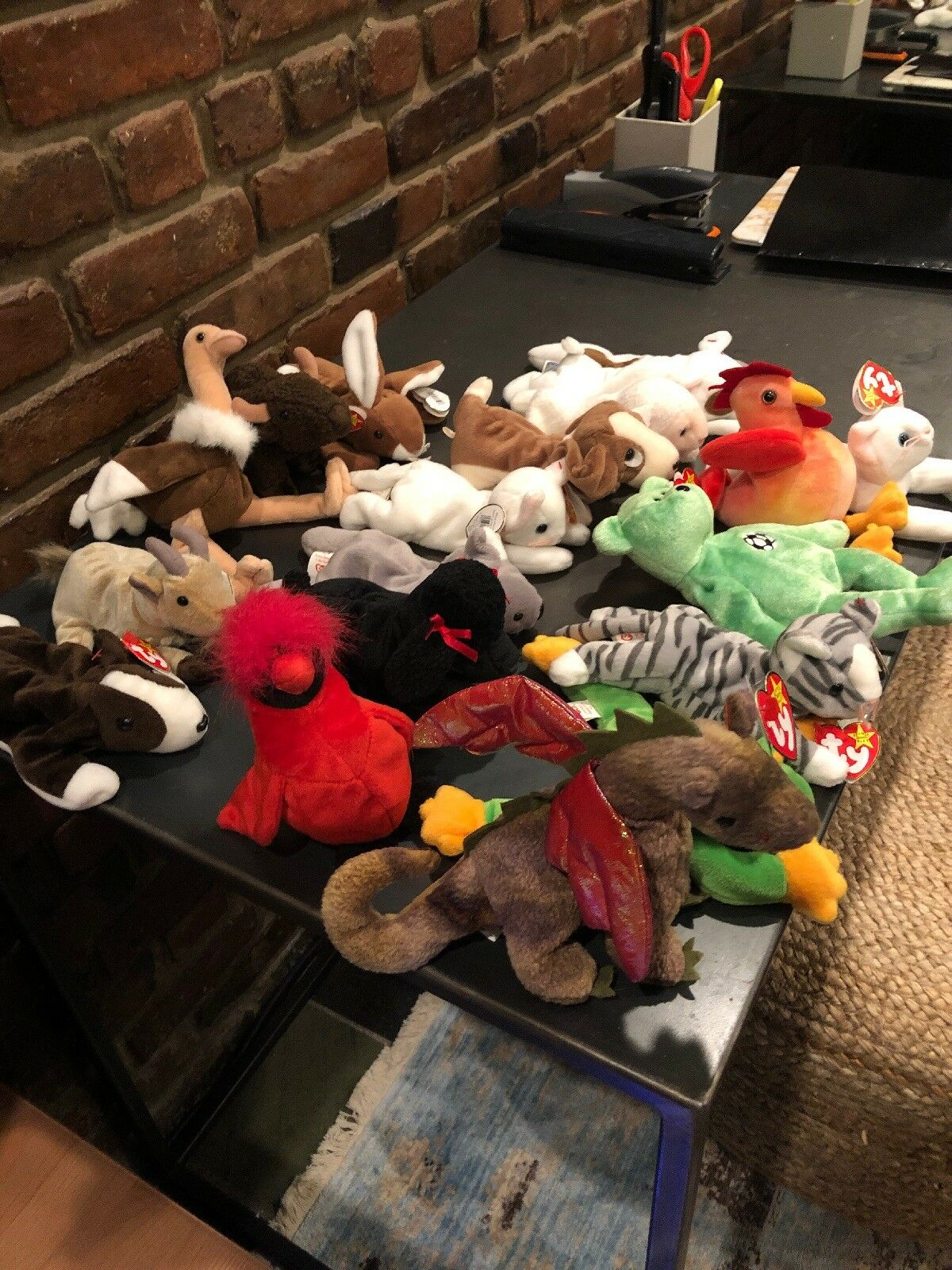 2a822bc1fa4 of 18 Retired Babies With Tags - New perfect Condition Beanie Lot ...
