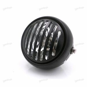 6-5-034-Black-Motorcycle-Headlight-For-Harley-Sportster-Chopper-Cafe-Racer-SCL