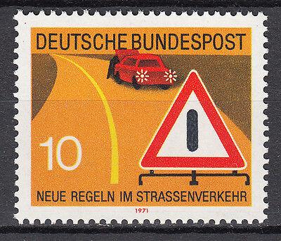 Angemessen Brd 1971 Mi. Nr. 671 Postfrisch Luxus!!!