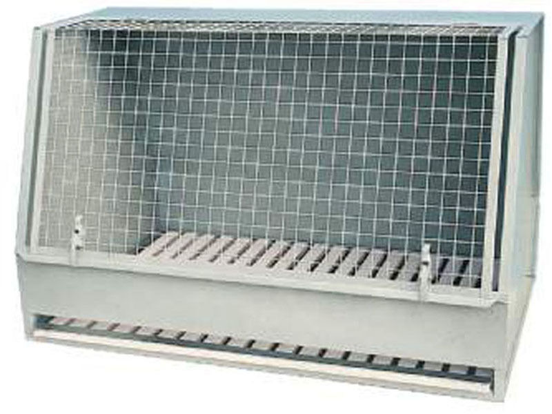 GABBIA BOX AUTO PER CANI TRASPORTINO CM 85x55 H CM 55 - MOD.L64