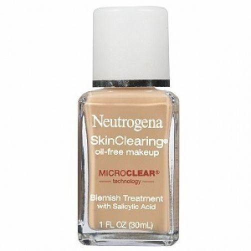 Neutrogena SkinClearing Oil-Free Makeup, Nude 1 fl oz