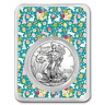 2019 1 oz Silver American Eagle - All Things Easter Collage - SKU#186881