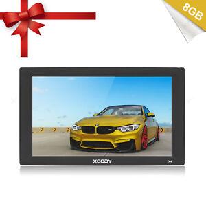 9 inch Auto Car Truck GPS Navigation 8GB Capacitive Touch Screen SAT NAV XGODY