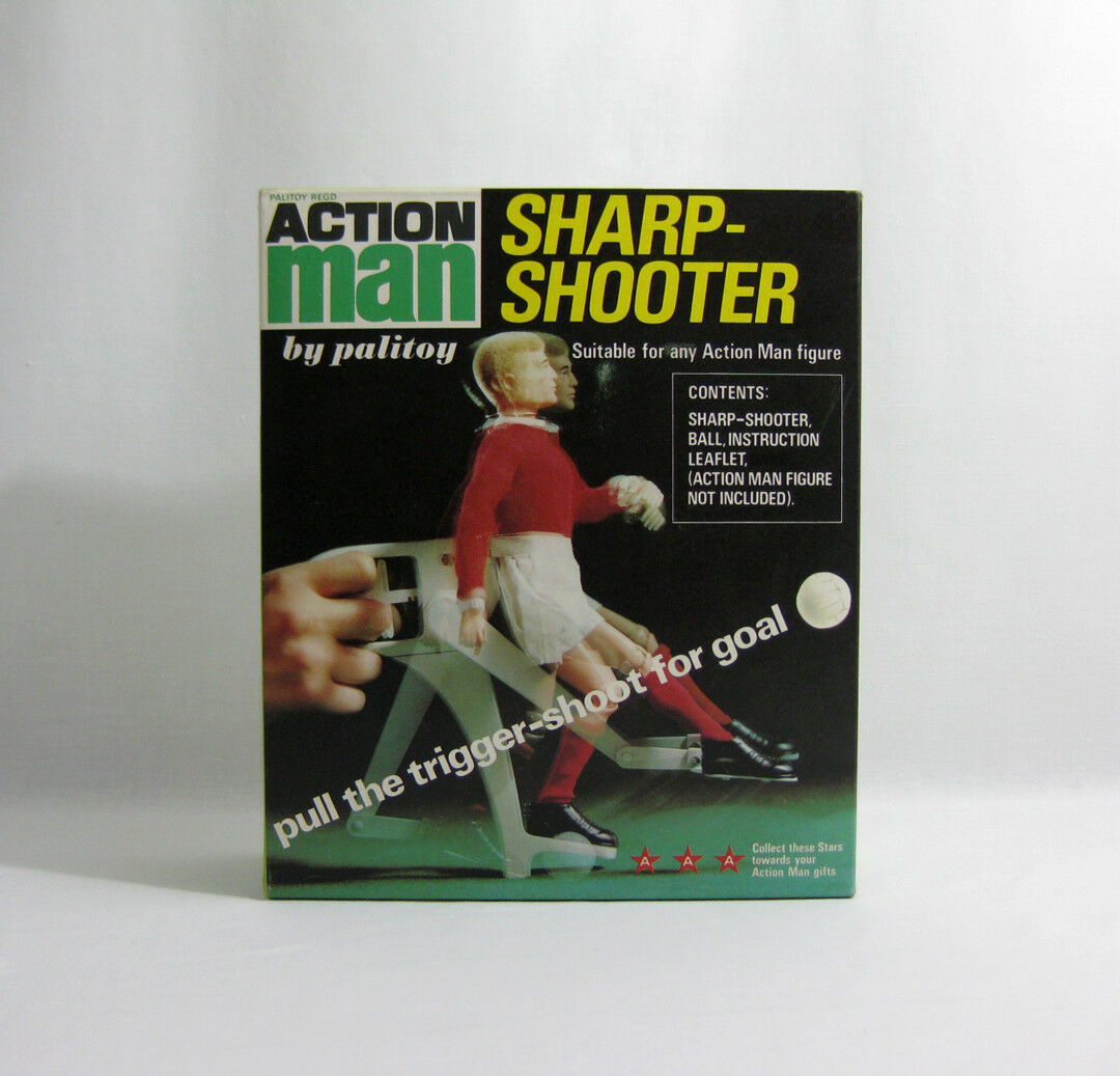 NEW 1970s Action Man ✧ Sharp-Shooter ✧ Vintage Palitoy G.I Joe MISB