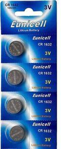 ENVOI-SOUS-SUVI-EUNICELL-4-piles-CR1632-1632-3V-Lithium