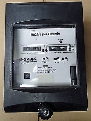 Basler Electric Be1 25 Sync Check Relay In Excellent