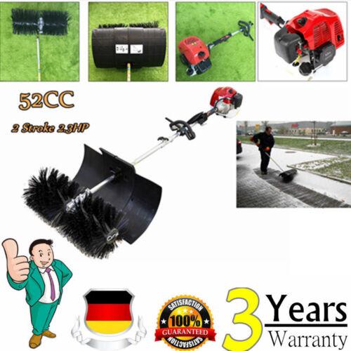 52CC KEHRMASCHINE Motorbesen Schneeräumer Benzinmotor 2,3PS Power Sweeper Motor
