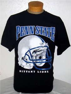 Black  Penn State NITTANY LIONS T-SHIRT Pennsylvania