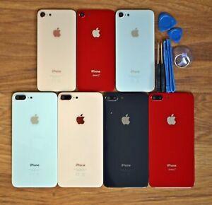 Per-iPhone-8-8-copertura-in-vetro-della-Batteria-Indietro-Ricambio-Custodia-con-lente-della