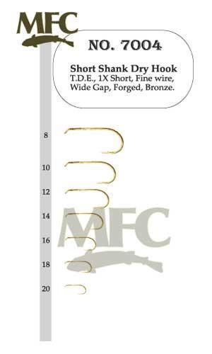MFC fly tying hooks Série 7004 MONTANA FLY Company