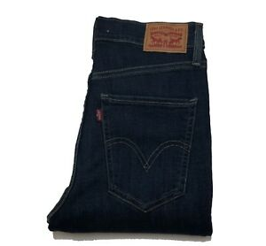 Levis-mile-high-Super-Skinny-Jeans-Blue-new-without-tags-24-26-28-30-32-34