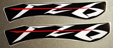 Logo Yamaha FZ 6 - adesivi- base NERA- adesivi/adhesives/stickers/decal