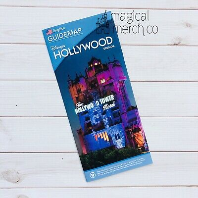 New 2020 Reopening Walt Disney World Hollywood Studios Guidemap 071320 Guide Map