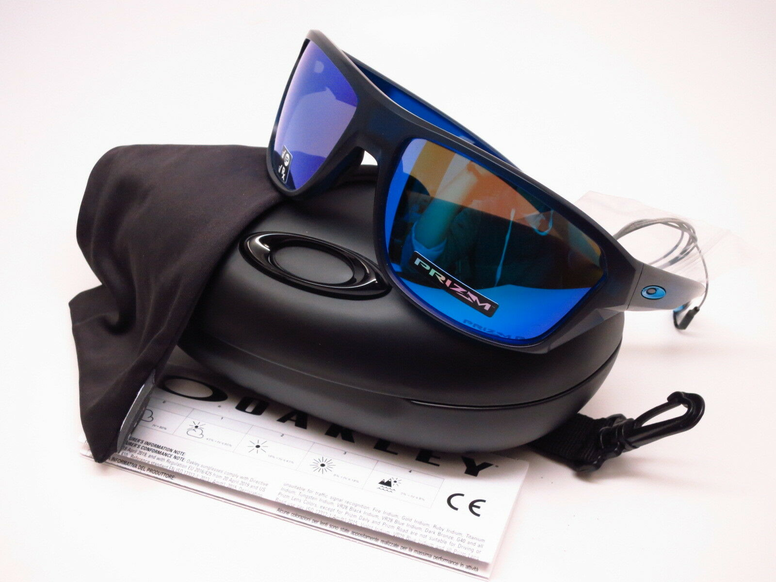 33f8191aed7ea Oakley Split Shot Men s Sunglasses - Matte Translucent Blue Frame ...