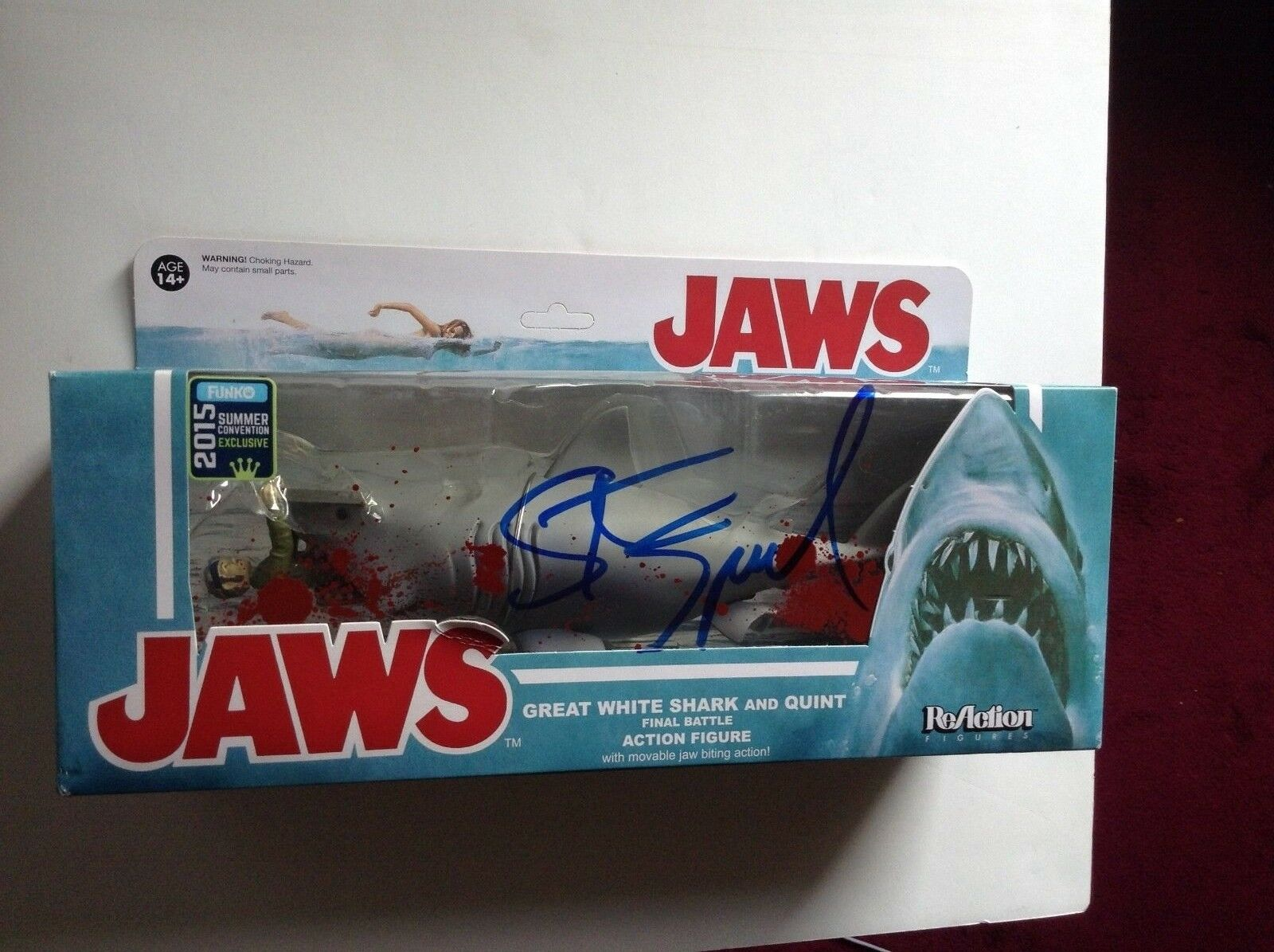 Steven Spielberg signed autograph