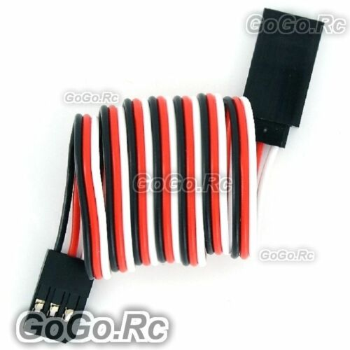 5 Pcs 500mm Servo Extension Lead Wire Cable For Futaba JR Car Plane Connector