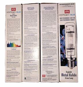 Eye Hortilux Blue Daylight 400W MH Metal Halide -Grow Light Lamp Bulb watts
