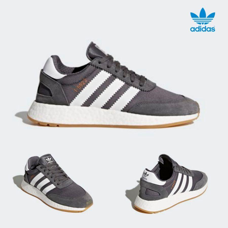 Adidas Original Iniki Boost Runner shoes Running Grey White Grey BB6865 SZ 4-11
