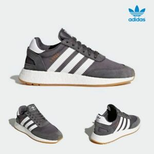 bba0191a77033 Image is loading Adidas-Original-Iniki-Boost-Runner-Shoes-Running-Grey-