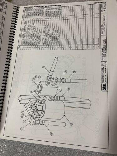 D210QH10JD Air Compressor Parts Manual #467 Sullivan Palatek D175Q10JD