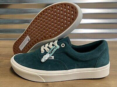 Vans ComfyCush Era Skate Shoes Suede Freshman Bistro Green SZ 9 ( VN0A3WM91O2 )   eBay