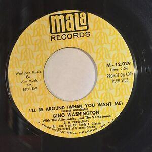 Gino-Washington-I-ll-Be-Around-Like-My-Baby-EX-MALA-PROMO-northern-soul-KILLER